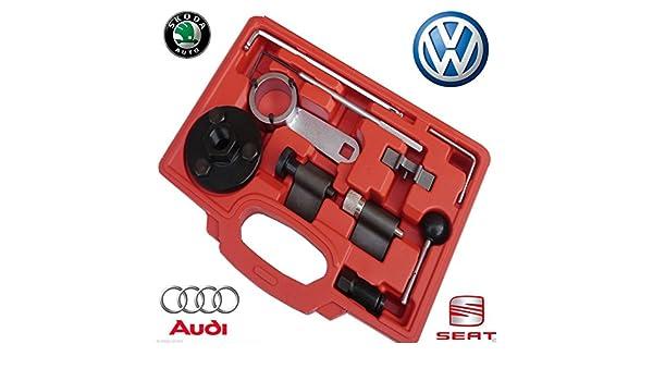Maletín VW con juego de herramientas de bloqueo, para VW VAG TDI VW Golf Passat Polo Common Rail: Amazon.es: Coche y moto