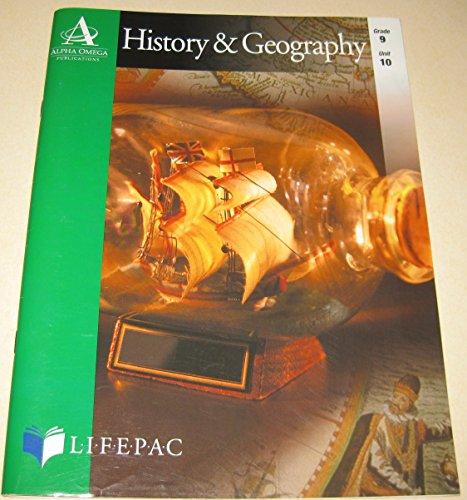 Lifepac History & Geography Grade 9 Unit 10