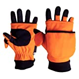 ArcticShield System Lightweight Gloves in Blaze Orange with Magnets - Medium