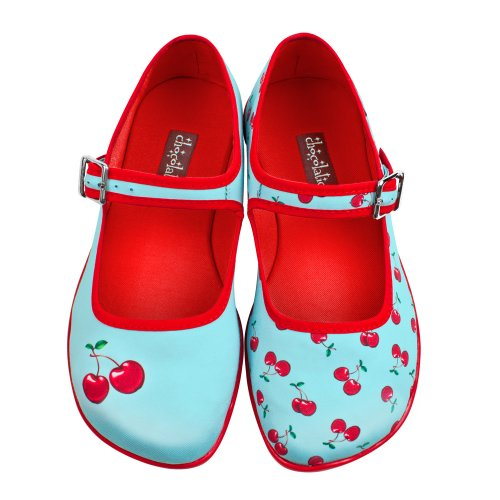Hot-Chocolate-Design-Chocolaticas-Cherry-Womens-Mary-Jane-Flat
