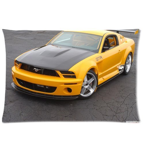 Amazon Com Ford Mustang Gt Concept Pillowcases Custom Pillow Case Cushion Cover  Inch Two Sides Home Kitchen