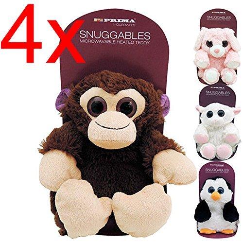 4 x acogedor de la felpa juguete suave del oso de peluche de ...