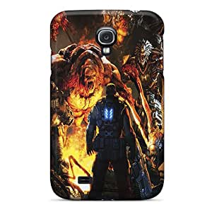 Samsung Galaxy S4 RQy5314mJSm Provide Private Custom High-definition Gears Of War 3 Pattern Best Cell-phone Hard Covers -DannyLCHEUNG