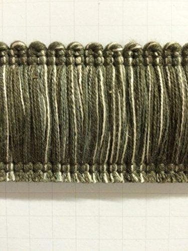 Cream Brush Fringe - 1.75