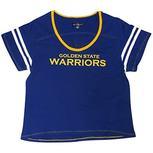 free shipping c9ee8 5910a Golden State Warriors Women's Baby Jersey S/S Scoop Neck ...