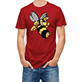 T-shirt Bee Hornet Wasp Vespa Red Tango XL
