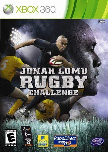 Jonah Lomu Rugby Challenge - Xbox 360 (Renewed) (Xbox 360 Games Rugby)