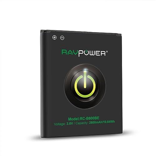 RAVPower 2600mAh Li-ion Battery for Samsung Galaxy S4 with NFC