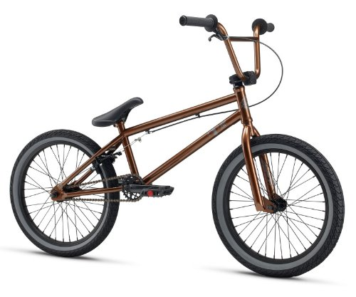 Chromoly Cassette - Mongoose M13CHA20 Boys Chamber Metallic Freestyle Bike, Brown, 20