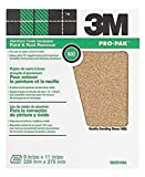 3M 346U Abrasive Sheet, Paper Backing, D Weight, Aluminum Obyide, 9'' Width, 11'' Length, 60 Grit (Pack of 25)
