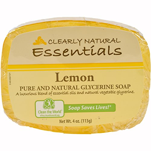 clearly-natural-essentials-glycerin-bar-soap-lemon-12-pack