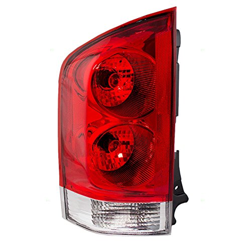 Drivers Taillight Tail Lamp Lens Replacement for Nissan Armada 26555ZC225