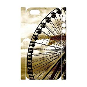 Diy The Ferris Wheel Phone Case For Sam Sung Galaxy S5 Cover 3D Shell Phone JFLIFE(TM) [Pattern-4]
