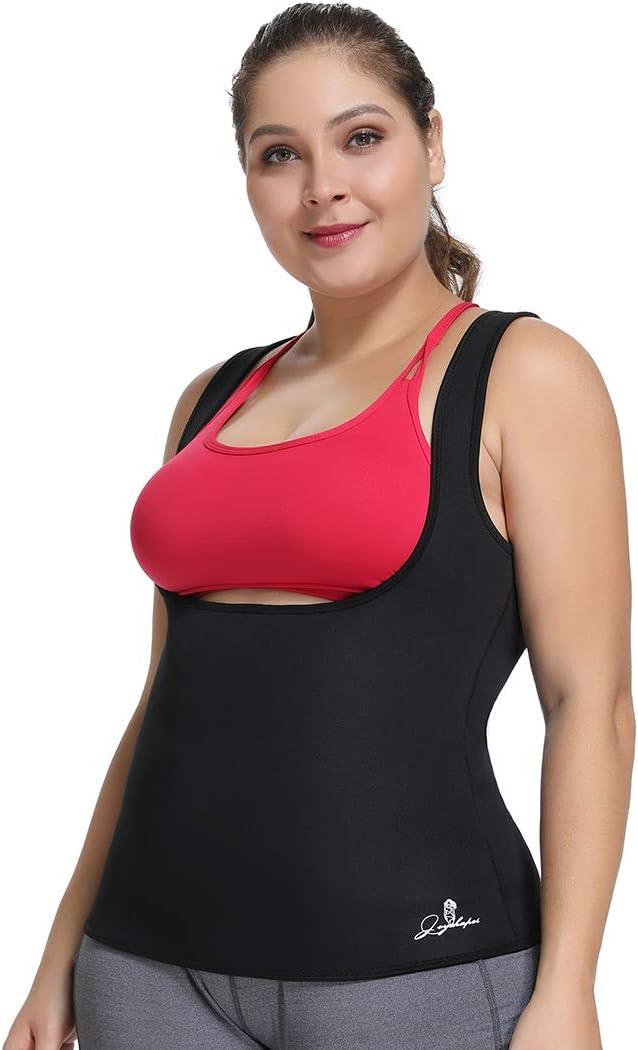 Joyshaper sauna neopreno sin mangas talla grande Chaleco de entrenamiento para bajar de peso para mujeres y mujeres para entrenamiento de adelgazamiento