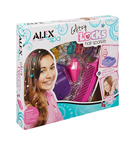 ALEX Spa Glitzy Locks Hair Sparkle JungleDealsBlog.com