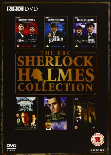 The BBC Sherlock Holmes Collection (A Study in Scarlet / the Boscombe Valley Mystery / the Hound of the Baskervilles / the Sign of Four / the Blue Carbuncle) [Region 2] by Reginald Owen