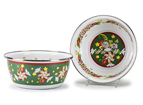 Mary Engelbreit Christmas Dinnerware Individual Salad Bowl 6 Inch Diameter (Mary Engelbreit Bowls)