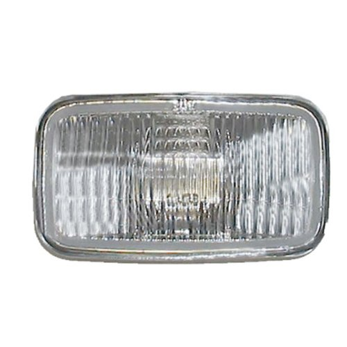 Left Light Driver Fog Assembly (93-95 Jeep Grand Cherokee Front Driving Fog Light Lamp Left Driver OR Right Passenger SAE/DOT Approved)