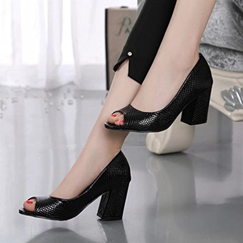 trapu Femmes Chaussures Forme Talon Dérapant Anti Sandales Plate Toe Sandales Peep Sangle la Sexy Cheville Découper pOfqAp
