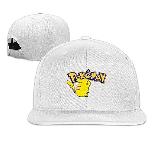 Poketto Monsuta Pikachu Plain Adjustable Caps Summer Hats Vintage Custom Snapback