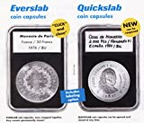 15 Lighthouse Quickslab 38mm Graded Coin Slabs--US Ike/Morgan Silver Dollar Holders