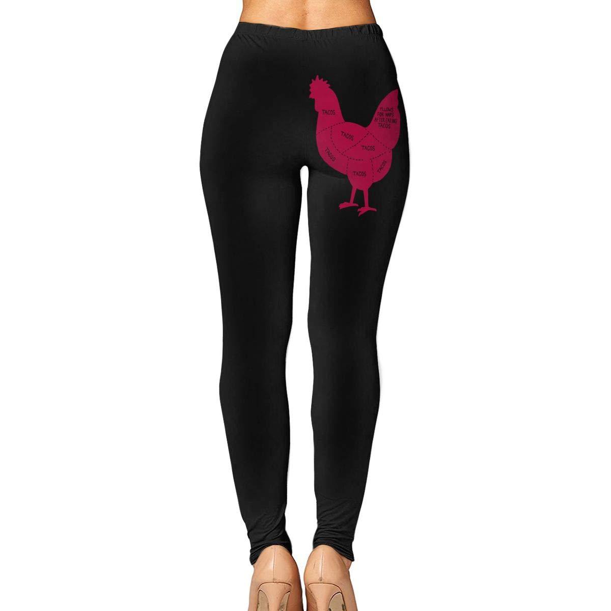 Amazon.com: JHWJ@KU Womens Yoga Pants Tacos Come from ...