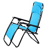 Bifast Folding Lounge Chaise Portable Beach Recliner Patio Chair Outdoor Garden Camping Cot