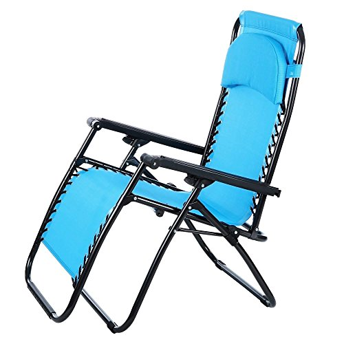 Cheap  Bifast Folding Lounge Chaise Portable Beach Recliner Patio Chair Outdoor Garden Camping..