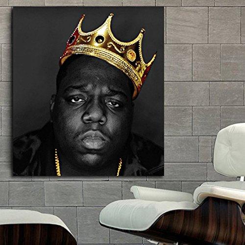 #17 Poster Canvas Notorious BIG Biggie 24X30 inch (60X75 cm) Canvas & Stretcher Bars (Big Poster Frames)