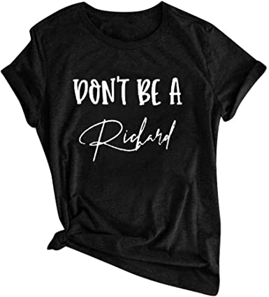 Franterd Fashion Graphic T Shirts for Women Funny Letter Print 2020 Loose Short Sleeve Shirt Blouse Casual Tee Tops
