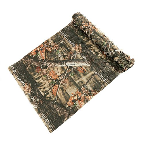 - Auscamotek Hunting Gear Camo Netting Camouflage net for Dear Blind Material -Brown 5×10Ft