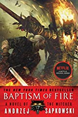 Now a Netflix original series!A deadly coup within the Wizard's Guild leaves the Witcher, Geralt of Rivia, gravely injured, and his ward Ciri missing in the third book of the NYT bestselling series that inspired the blockbuster video games.  ...
