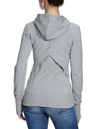 Nike Tradition - Sudadera para mujer Gris (Grey/White)