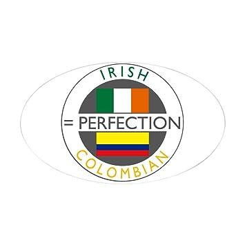 Amazon.com: CafePress – Irish Colombian Heritage Bandera ...