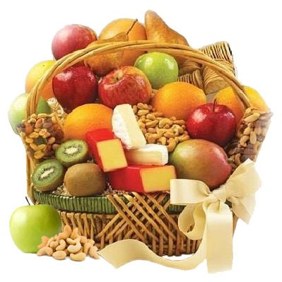 Triple Treat Basket Amazing Assortment For All Fruit Lovers