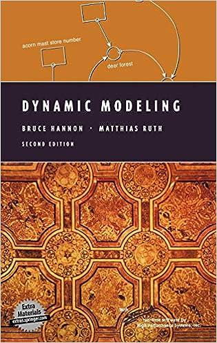 Dynamic Modeling (Modeling Dynamic Systems): Bruce Hannon, Matthias