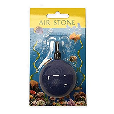 "Viagrow VHA007-15 Aquarium Air-Stone 2"" Round Disc Diffuser (15 Pack)"