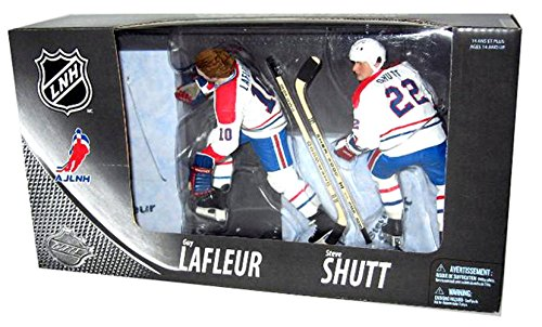 McFarlane Toys NHL Sports Picks Canada Exclusive Montreal Centennial Action Figure 2-Pack Guy LaFleur and Steve Shutt (Montreal (Centennial Figures)