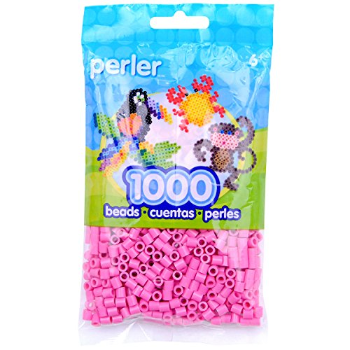 Perler Beads Fuse Beads for Crafts, 1000pcs, Bubblegum Pink