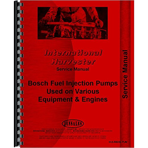 Engine Service Manual For International Harvester E270 Elevating Pay Scraper