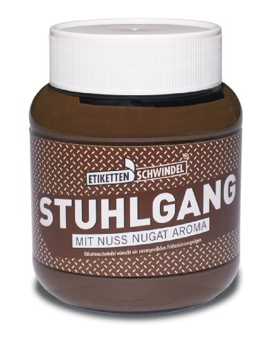 Stuhlgang Schokocreme / Nuss-Nougat Brotaufstrich 350gr