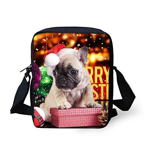 TAOTINGYAN Schulrucksack, Schultasche,Rucksäcke Kinder_Kinder Tasche Messenger Paket Tasche Schöne Kinder Diagonal Weihnachten Kinder, Sechs Zwei