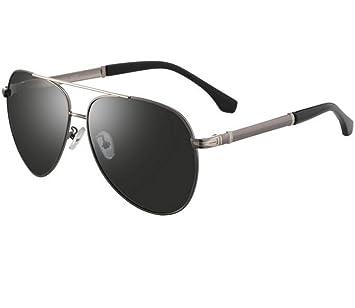 SHULING Gafas De Sol Sepia Big Box Gafas De Sol Polarizadas Sapo Conducción Espejo Retrovisor Conductor