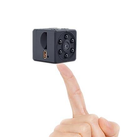 Boomly Mini Camara Espias Cámara Micro Deportes Magnetic HD 1080P 32GB Surveillance Cámara Espía grabadora con