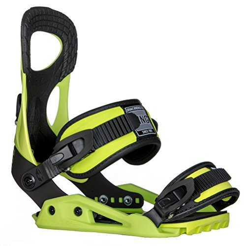 Northwave King Snowboard Bindings 2018 - X-Large/Lime by Drake