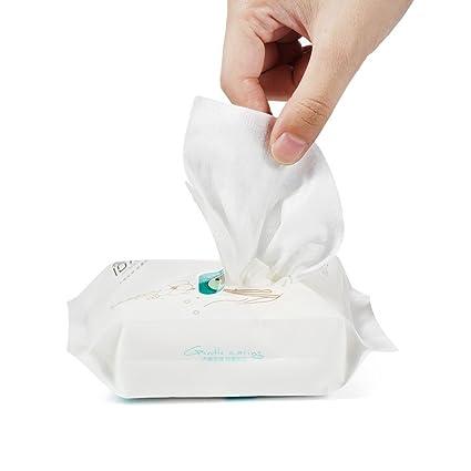 Toallitas Limpiadoras, Toalla de Lavado Suave, Desechable Toalla de Limpieza Facial, Toalla de