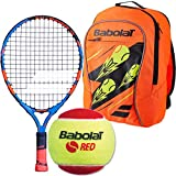 Babolat Ballfighter 17 Inch Junior Tennis Racquet Bundled with Your Choice of a Bag and/or Starter Balls (Best for Ages 5 and Under)