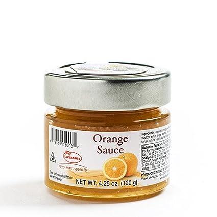 fruited Mostaza Salsa – Naranja (4,2 Onza): Amazon.com ...