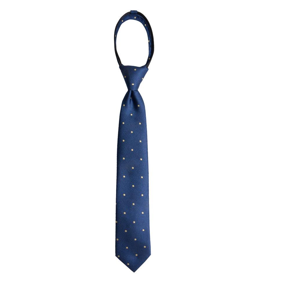 Wembley Boys Boys Pre-Tied Adjustable Zipper Neck Tie yellow One Size WE00140006