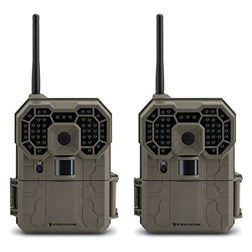 Stealth Cam GXW 12MP 1080p HD iOS & Android Wireless Game Trail Camera
